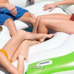 Island Hydro Force Lounger Lilo Bestway Inflatable Swimming Pool Float Raft Bed