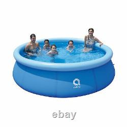 JLeisure 17807 10 Ft x 30 Prompt Set Inflatable Outdoor Backyard Swimming Pool