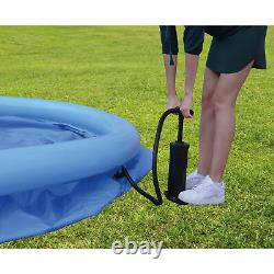 JLeisure 17808 12 Ft x 30 Prompt Set Inflatable Outdoor Backyard Swimming Pool