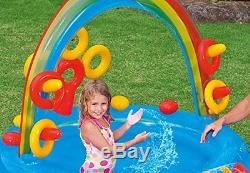 Kids Outdoor Inflatable Swimming Pool Play Center Baby Fun Water Playground