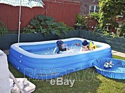 Large Family Inflatable Swimming Pool Center Water Giant Indoor/Outdoor Kid Play