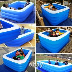 Large Family Swimming Pool Above-Ground Pools Inflatable Kids Paddling Pools