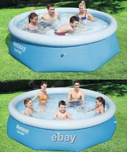 Large Paddling Garden Pool Kids Fun Family Swimming Outdoor Inflatable 8' 10