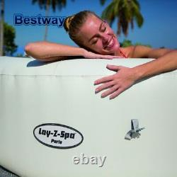 Lay-Z-Spa Hot Tub Jacuzzi Inflatable Family Adults Swimming Pool Garden Tubs