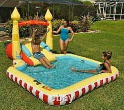 Members Mark Inflatable Sand Castle Novelty Pool With Slide