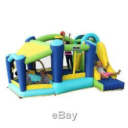 My 1st Jump N and Slide withBall Pit Inflatable Air Blown Bounce Party House NEW