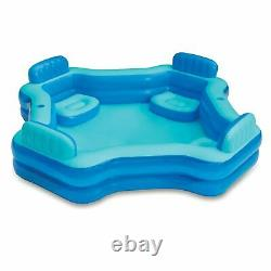 NEW Deluxe Comfort Family Swimming Pool Play Day Inflatable