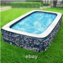 NEW! Extra Large Above Ground Family Sized Inflatable Pool 10' x 6' FREE SHIP