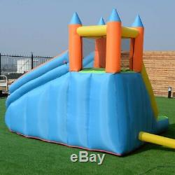 NEW Inflatable Bounce House Water Slide Park Kids Rock Climbing Wall Castle Pool