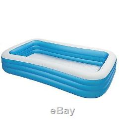 NEW Large Family Inflatable Swimming Pool Kids Adult Outdoor 264 Gal CAPACITY
