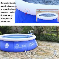 New Large Jumbo Deluxe Round Inflatable Family Swimming Paddling Pool Fun