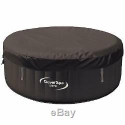 Onyx cleverspa Inflatable 4Person Hot Tub swim pool jacuzzi garden outdoor patio