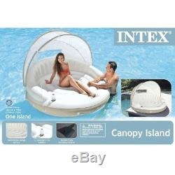 Outdoor Inflatable Bed Swimming Pool Lounge Intex Summer Beach Sport Accessory