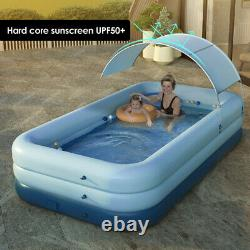 Outdoor Summer Sunshade Wireless Auto Inflatable Family Kids adult Swimming Pool