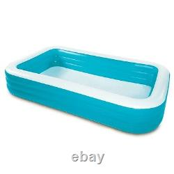 Play Day Rectangular Inflatable Family Pool, 120 x 72 x 22 FAST SHIPPING