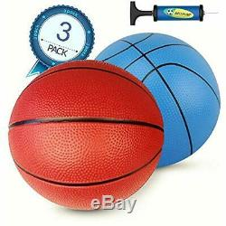 Pool Basketball & Volleyball Sets Replacement 8 Inch Inflatable Ball Swimming 2