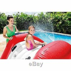Pool Water Slide Inflatable Accessories Summer Splash Party Fun 10.11x6.9x3.1