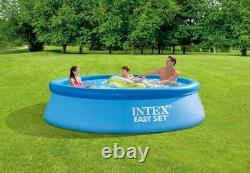 READY TO SHIP Intex 10ft x 30in Easy Set Inflatable Pool with FILTER & PUMP