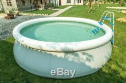 Rectangular/Round Frame Swimming Pool Fast Set Inflatable Pool with Filter Ladder