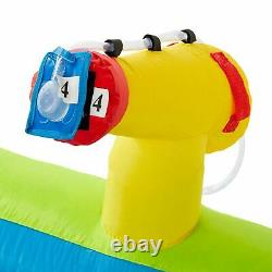 RipTide Fun Inflatable PVC Water Park with 3 Slides & Obstacle Course(For Parts)