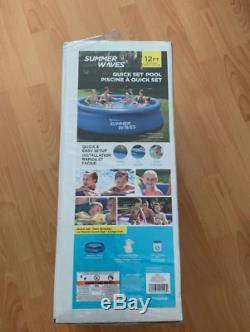 SHIPS SAME DAY Summer Waves 12ft x 30in Inflatable Swimming Pool