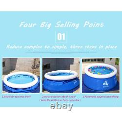 Summer Portable Outdoor PVC Inflatable Swimming Pool Water Sports Electric Pump