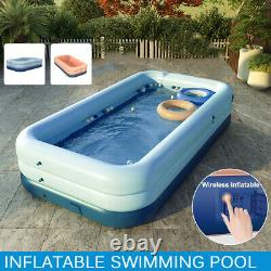 Summer Sunshade Wireless Auto Inflatable Swimming Pool for Family Kids