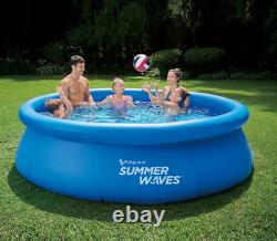 Summer Waves 10 ft x 30 in Quick Set Inflatable Pool with Filter Pump SHIPS PR