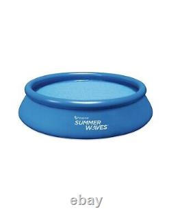 Summer Waves 12 ft Quick Set Ring Round Above Ground Swimming Pool IN HAND NOW