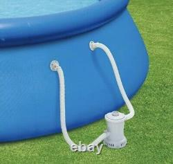 Summer Waves 12ftx30in Quick Set Inflatable Swimming Pool with Pump SHIPS NOW