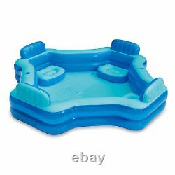 Summer Waves 8.75ft x 26in Inflatable Home 4 Person Deluxe Comfort Swimming Pool