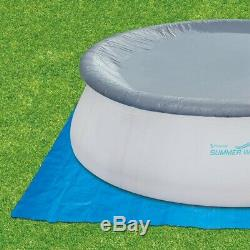 Summer Waves Elite Quick Set 18 ft. Round x 48 in. D Inflatable Pool with Sand