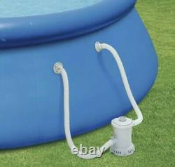 Summer Waves10FT x 30IN Quick Set Inflatable Above Ground Pool Filter Pump
