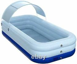Sunshade Inflatable Swimming Pool Family Lounge Pool Inflatable Swimming