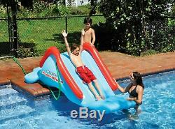 Super Water Slide Inflatable Toy Kids Swimming Pool Summer Fun Outdoor Play NEW