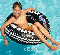 Swimline 9021 36 Inch Inflatable Swimming Pool River Lake Floating Tire Tube