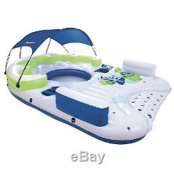 Swimming Lounge Float Inflatable Beach Water Lake Pool Outdoor Raft Big 7 Person