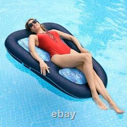 Swimming Pool Floats for s Raft Inflatable Recliner Tan Convertible 2 in 1