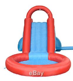 Water Slide Inflatable Swimming Pool Tall Kid Garden Outdoor Park