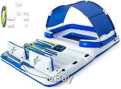 Way Coolerz Trcal Breeze Floating Island Raft Giant Inflatable Pool Float For